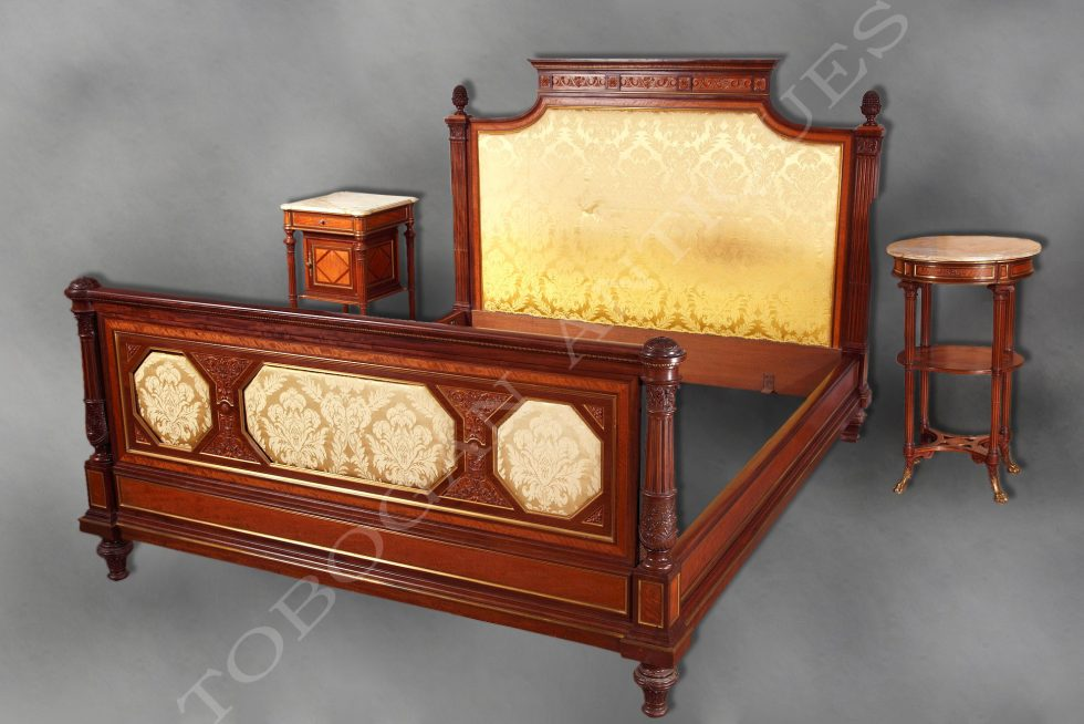 H.-A. Fourdinois <br/> Exceptional bedroom set