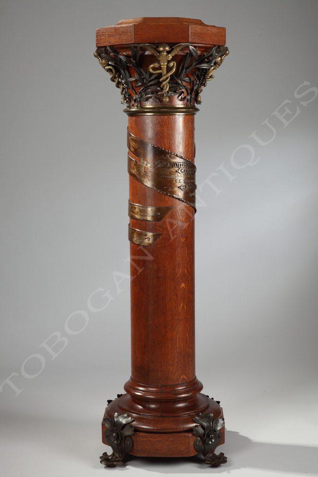 A Rare Oak Column
