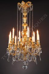 Baccarat  Chandelier with putti