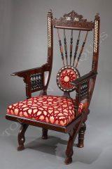 G. Parvis  Orientalist armchair