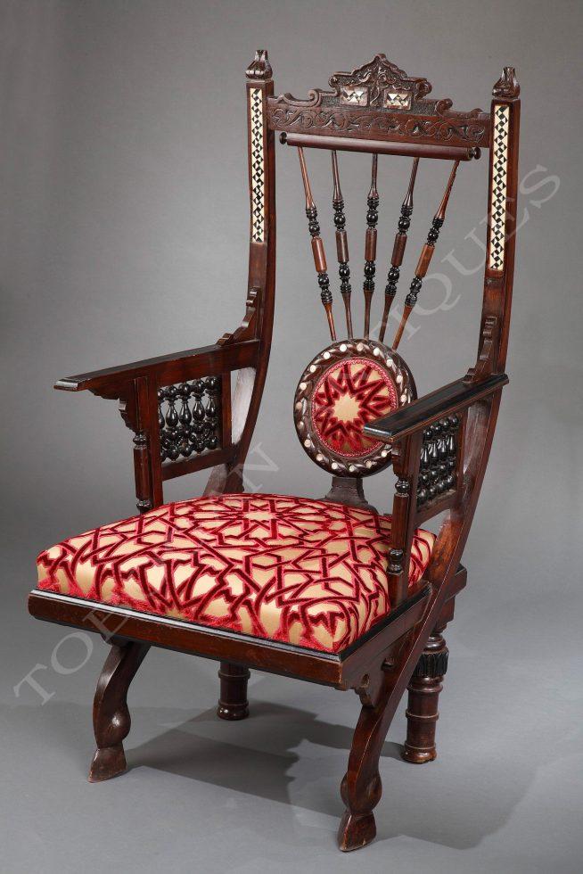 G. Parvis <br/> Orientalist armchair