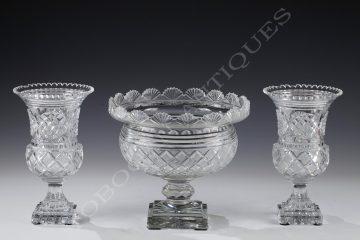 Baccarat <br/> Garniture en cristal