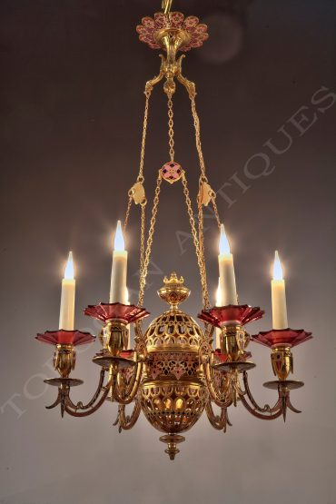 enamel-barbedienne-chandelier