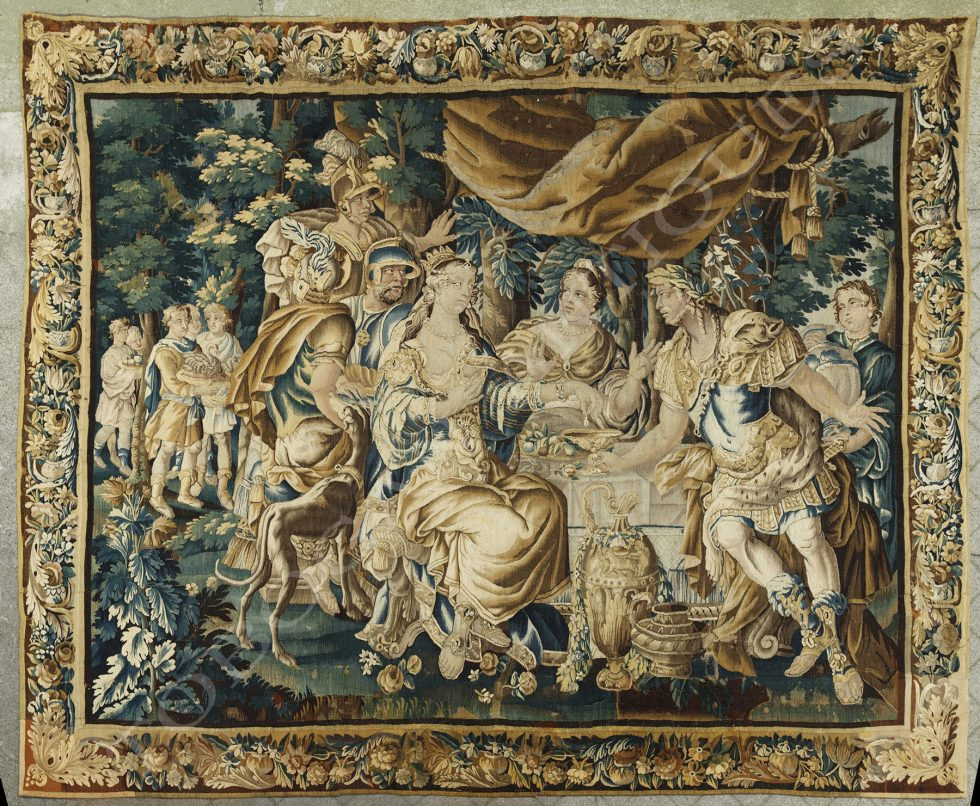 Aubusson Manufacture <br/> The Banquet of Cleopatra