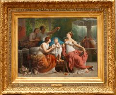 H. Picou  Allegory of the game