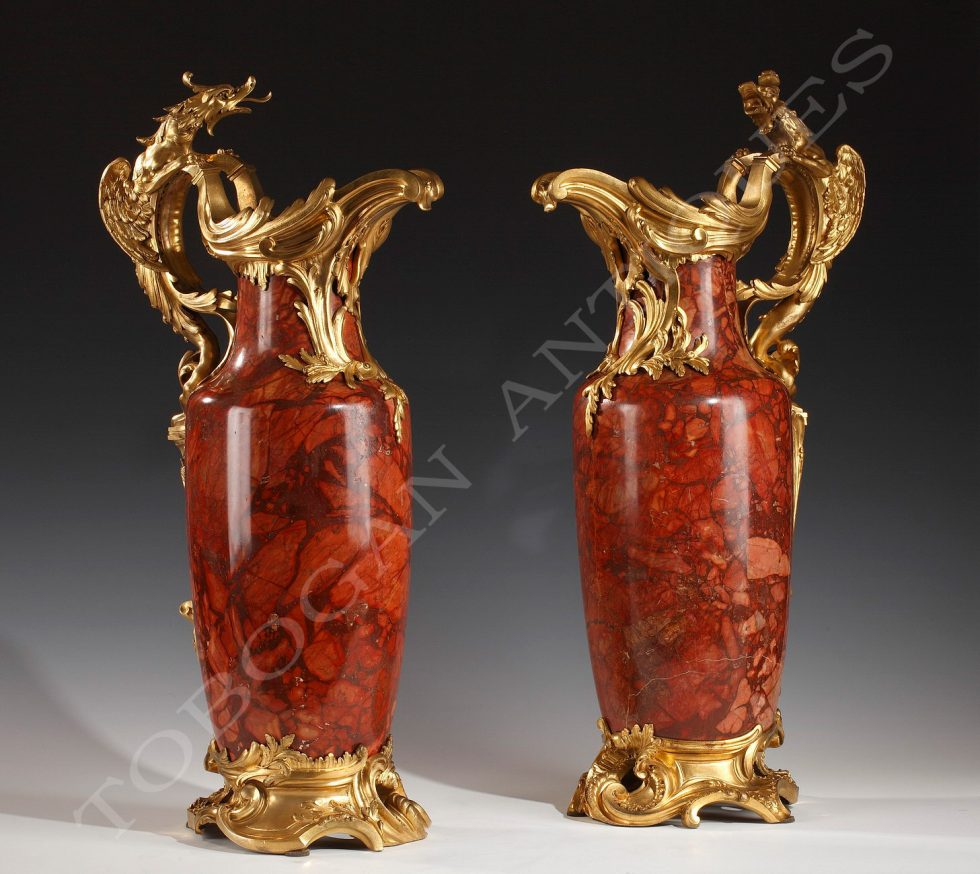 Maison Millet <br/> Pair of ewers