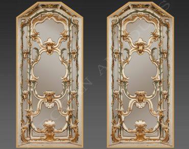 boiserie-Louis XV-miroir