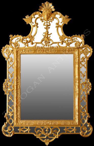 beau miroir a parcloses