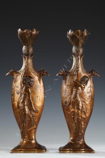 bronze-vases-dancers-louchet