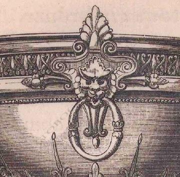 Paire de sellettes néo-Grecques Servant Tobogan Antiques Paris antiquités XIXe siècle