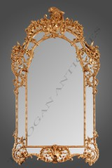 Important Mirror  Regence Style