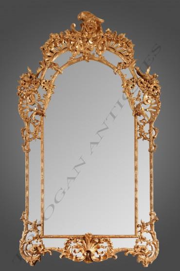 Miroir Régence objets d'art Tobogan Antiques Paris antiquités XIXe siècle
