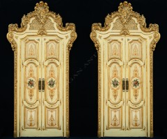 Set of fourVenitian palace double doors