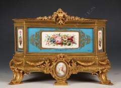 """""""Sèvres""""Louis XVI style porcelain jardiniere"""