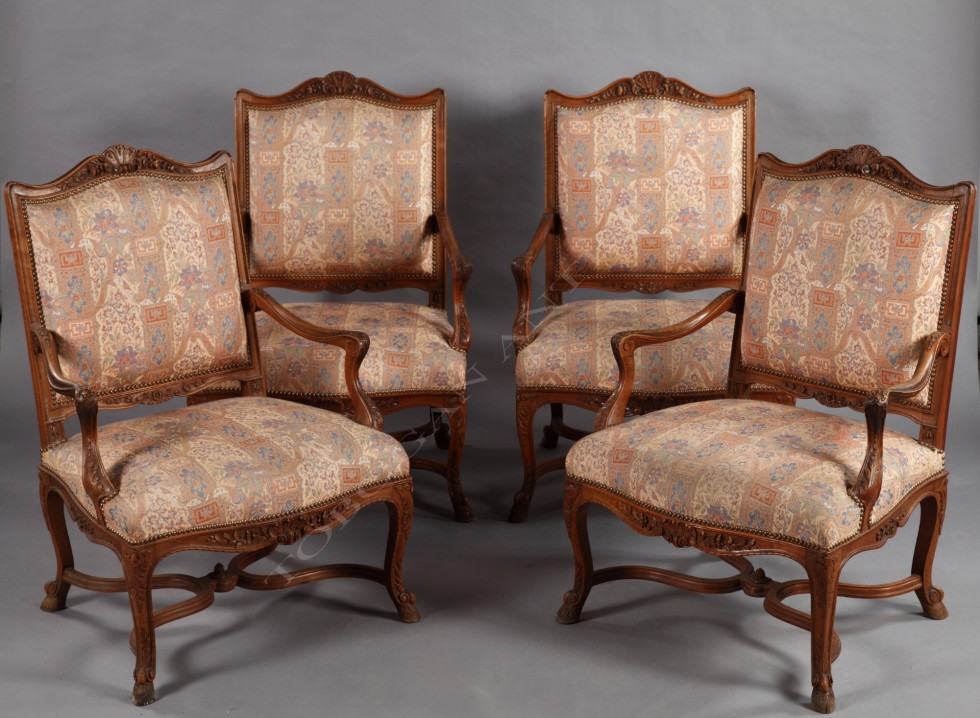Set of Regence style seats