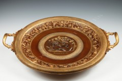 "F. Levillain & F. Barbedienne""Dionysos"" display dish"