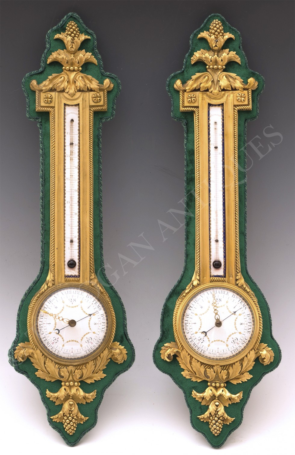 H. Dasson <br/> Baromètre thermomètre