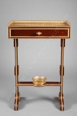 mahogany-writing-table